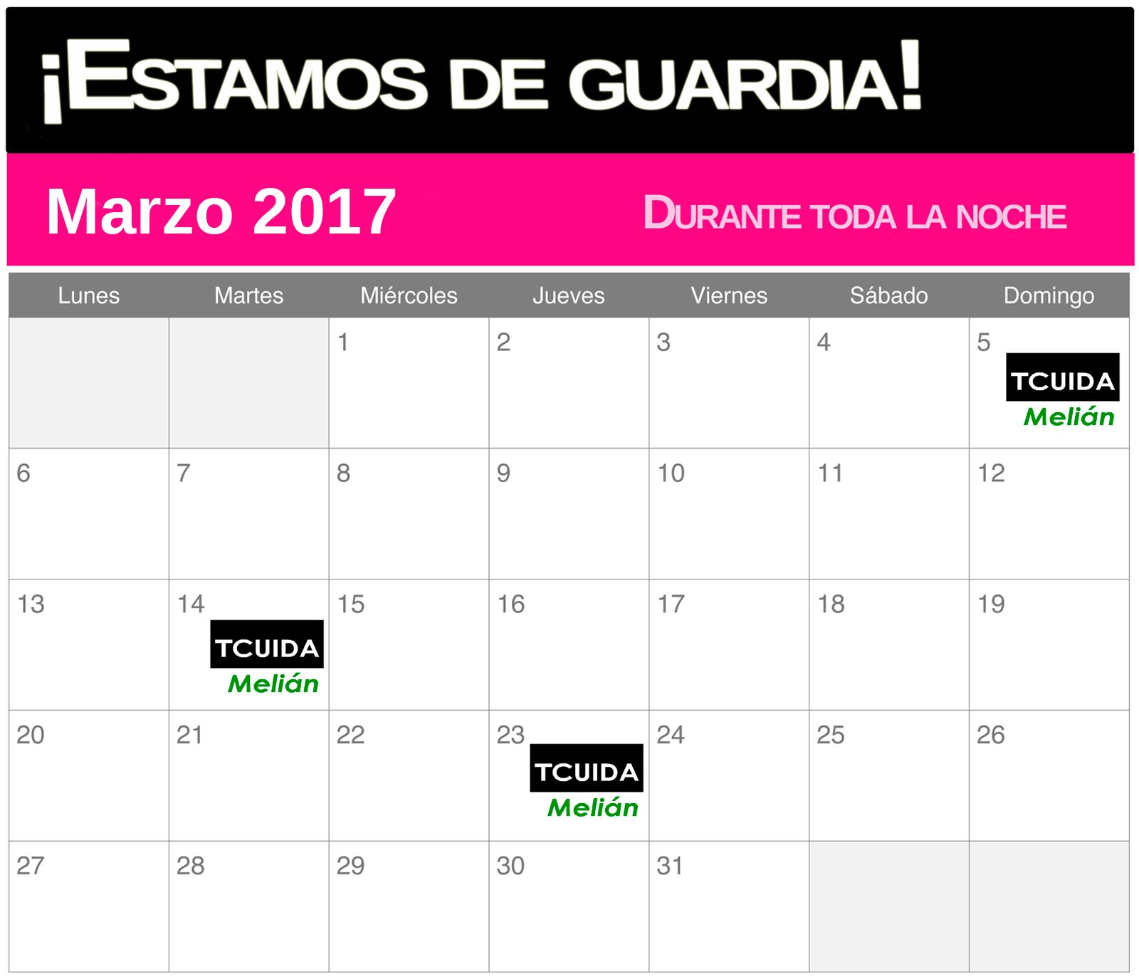 Tcuida-melian-guardias-marzo
